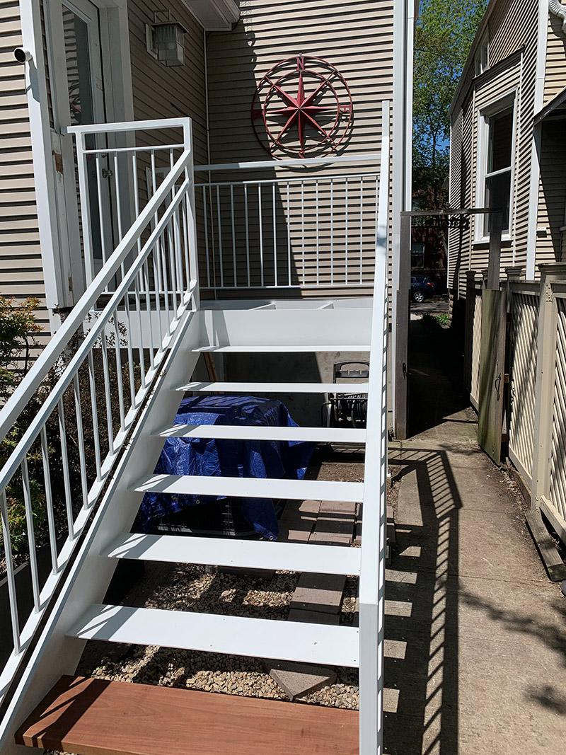 iron work deck