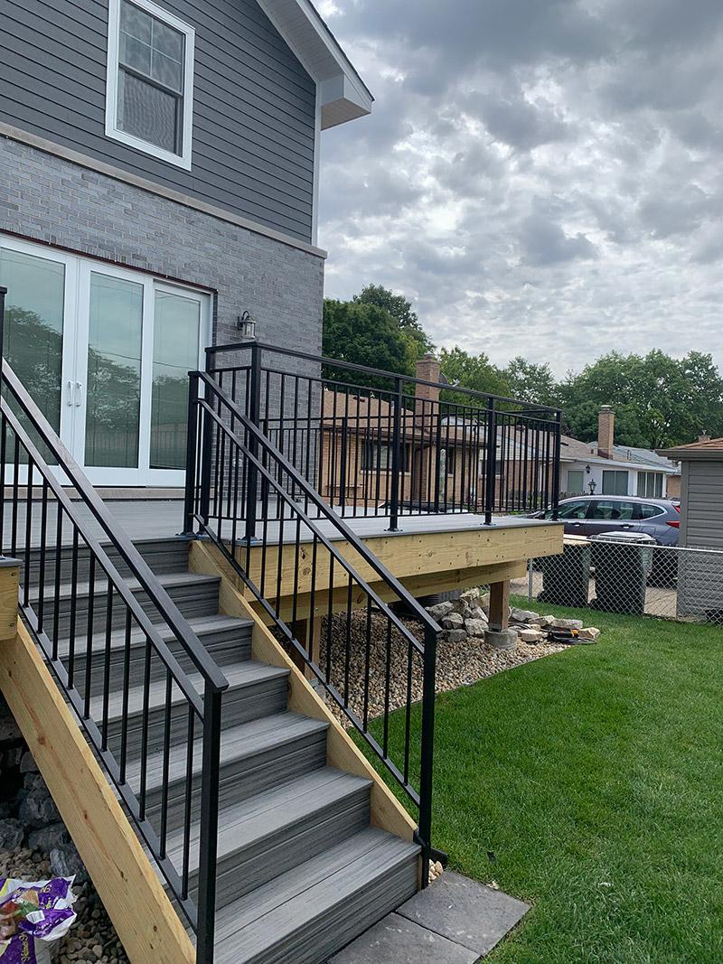 custom work iron deck