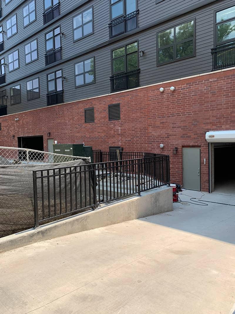 chicago industry iron railings