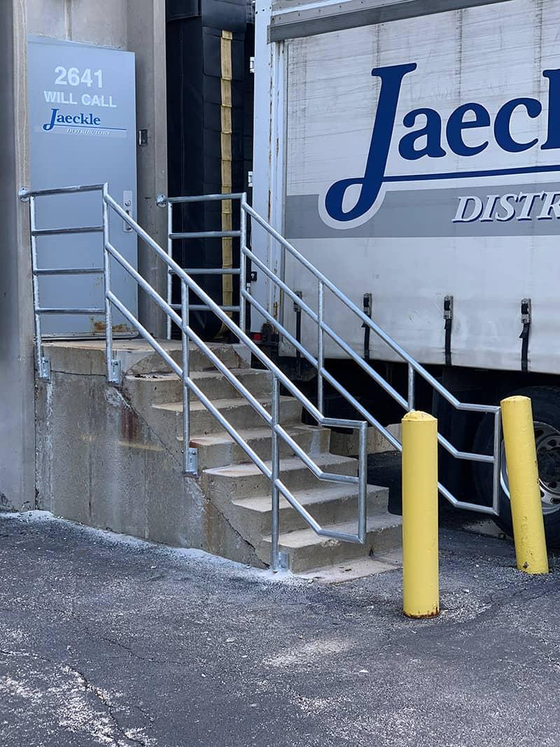 chicago industry metal railings