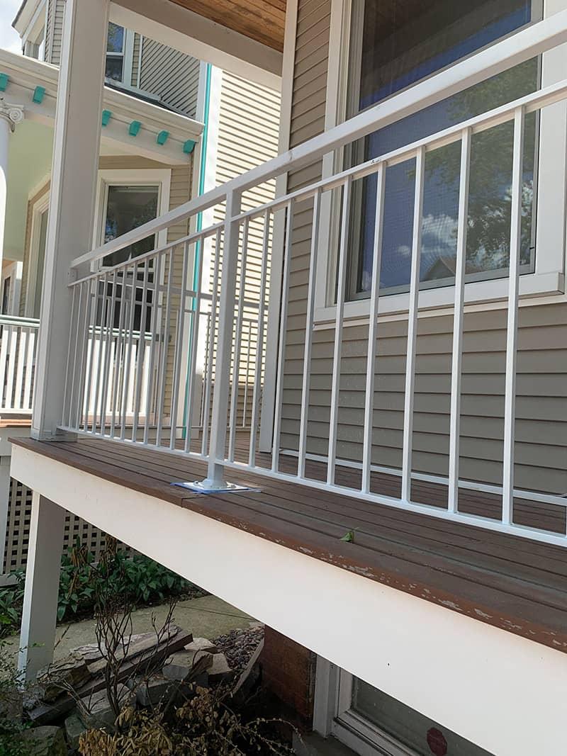 quality iron work railing