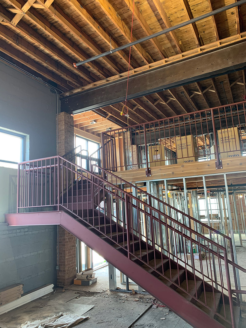 chicago welder staircases