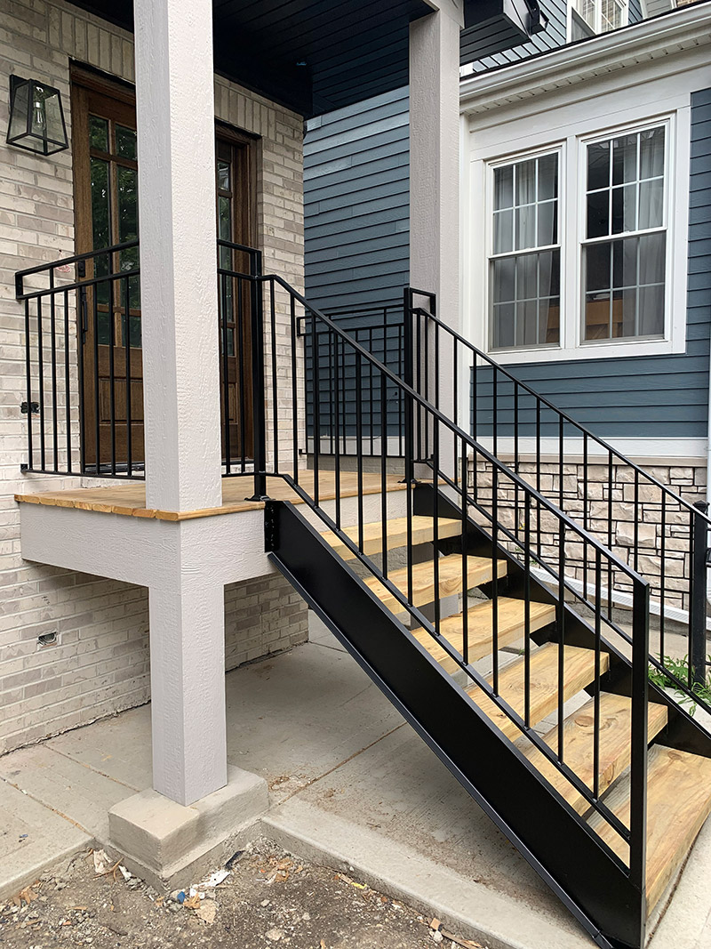 quality iron work staircases