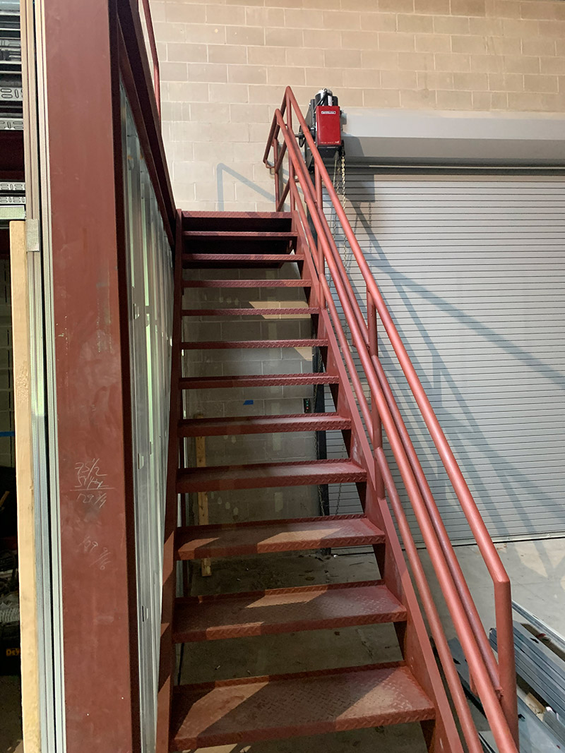 chicago welding staircases